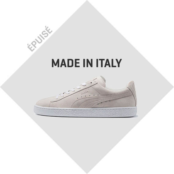 MADE IN ITALY SUEDE